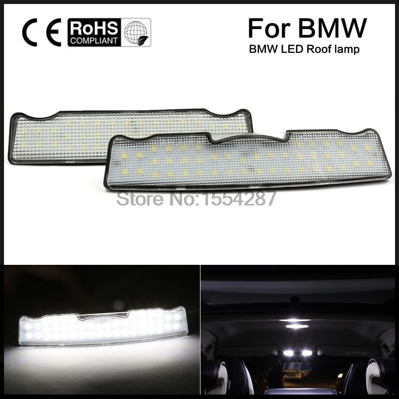 For BMW 5 SERIES F10 F11 2009 On 44 LED INTERIOR ROOF COURTESY FRONT LAMP Canbus error free